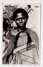 (Lx127-388) Real Photo of Swazi Belle,  Unused G-VG