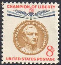 SC#1126 8c Champion Of Liberty - Jose de San Martin Single MNH