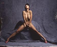 Natalie C301 Fine Art Nude Model hand-signed 8.5x11 color photo by Craig Morey