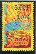 TIMBRE FRANCE OBLITERE N° 3330 BONNES VACANCES / Photo non contractuelle