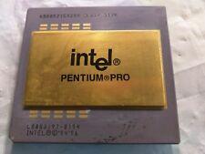 INTEL Pentium Pro 200MHz, SL22Z , Vintage CPU. Looking for me GOLD!!