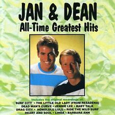 Jan & Dean - All-Time Greatest Hits [New CD] Manufactured On Demand