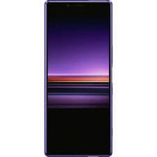 "Sony Xperia 1 Unlocked Smartphone 6.5"" 4K HDR OLED CinemaWide Display, 128GB (Pu"