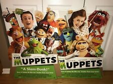 Disney's The Muppets (2011) Blu-ray and DVD Promotional Cardboard Display Stands
