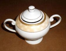 "Casati Sugar Bowl Porcelain Bavaria German Lidded 5"""