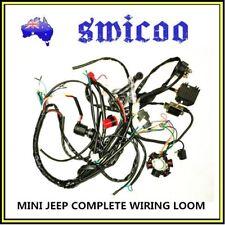 125cc-150cc mini jeep hotrod buggy electric start complete wiring loom stator