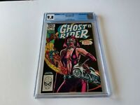GHOST RIDER 75 CGC 9.8 WHITE PAGES 1ST APPEARANCE STEEL WIND MARVEL COMICS