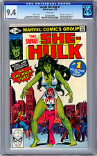 SAVAGE SHE-HULK #1 CGC 9.4 NM <> PREMIERE ISSUE & ORIGIN OF SHE-HULK <> 1980