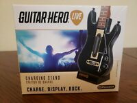 NEW GUITAR HERO LIVE PowerA CHARGING STAND w/RECHARGEABLE BATTERY PACK FREE SHIP