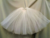 lot  2 full length petticoat crinoline Ellowyne Wilde msd bjd IVORY