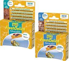 Tetra FreshDelica Combi pack 1xKrill 48 gr u. 1x Brine Shrimp 48 size in jelly