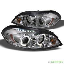 For 06-16 Impala 06-07 Chevy Monte Carlo Halo LED Pro Headlights Head Lights