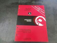 John Deere 340 and 440 Trailfire Snowmobiles Operator's Manual    OM-M68926 F0