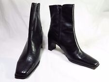 Witty Sandler Women's Black Boots Leather 10B. In Box