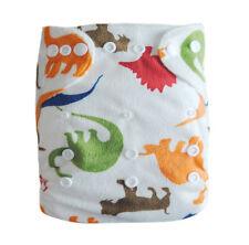 1 ALVA Reusable Baby Washable Cloth Diaper Eco-friendly Nappy Minky+1INSERT M12