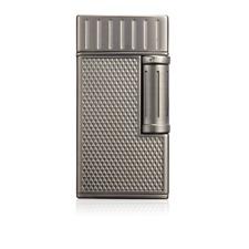New Colibri Julius Classic Cigar Luxury Lighter Double Soft Flame in Gunmetal