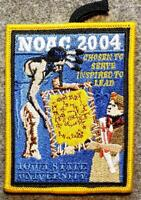 2004 NOAC Delegate Patch - Chosen to Serve Inspired to Lead - OA/BSA