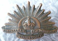 Badge- Australian Commonwealth Military Force Official Badge (Genuine*)