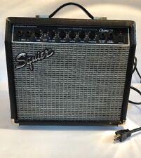 Squier Fender Musical Instruments Amplifier Champ 15 2 Imputs Speaker Guitar 8 O