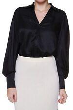 Damenblusen,-Tops & -Shirts im Blusen-Stil mit V-Ausschnitt für Party ohne Mehrstückpackung