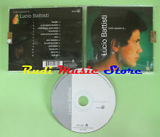 CD LUCIO BATTISTI Tutto questo e' 2006 eu SONY BMG 74321514882 no lp mc dvd