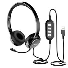 Mpow Ear-Pad Wired Headset - Black (MPPA071AB)