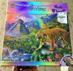 New - Master Pieces Reflections - Clandestine Forest 750 Piece Jigsaw Puzzle