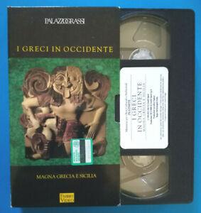 VHS Film Ita Documentario GRECI IN OCCIDENTE Magna Grecia e Sicilia no dvd (V155