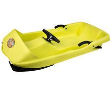 Ondis24 Schlitten Super Bob gelb 1 Sitzer für Kinder ab 2 Jahren Rennrodel !NEU!