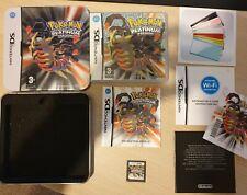 Pokemon platino HMV exclusivo de estaño-juego incluido-Todos Los Folletos Incluidos!