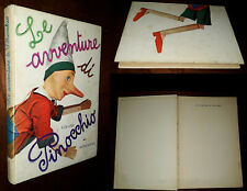 Le avventure di Pinocchio, Collodi, Vittorio Accornero, 1°Ed. Mondadori 1960.