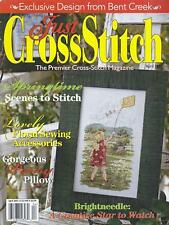 Just Cross Stitch Magazine Back Issue April 2002 Bent Creek, Brightneedle +