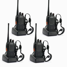 4*Baofeng/Pofung BF-888S UHF 400-470 MHz 2-way Amateur Ham Radio Talkie Walkie