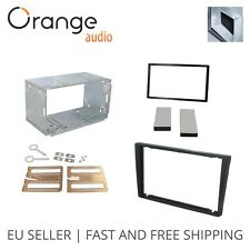 Renault Trafic II Radio Faceplate Double Din Fitting Fascia Car Stereo black
