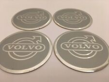 Autocollant Sticker Centre de Roue Cache Moyeu Jante Alu pour VOLVO 4 x 60mm