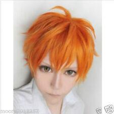Fashion wig Haikyuu volleyball guys hinata shyouyou orange short cosplay wig