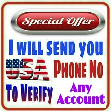 USA Phone Number to Verify Any Account