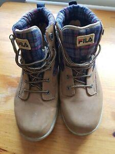 mens fila boots ul size uk 11