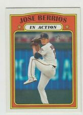 (10) Jose Berrios 2021 TOPPS HERITAGE IN ACTION CARD LOT #114 MINNESOTA TWINS