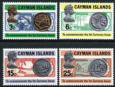 Cayman Islands 1973 Currency set of 4 Mint Unhinged