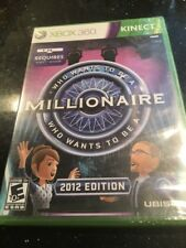 XBox 360 KINECT Game - Who Wants to Be A Millionaire 2012 Edition New Sealed