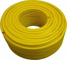 100m 6mm Yellow PVC Braided Hose For WATER FED POLE Window Cleaning WFP