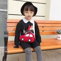 Fashion Kids Shoulder Bag Zipper Trendy Multicolor Cartoon Car Purse AA