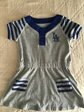 NWT! Los Angeles Dodgers Girls 4T Dress