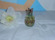 Monet Enamel & Glass Butterfly Perfume Bottle + Funnel NEW RETIRED