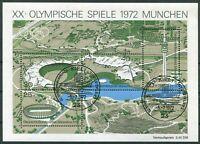 Bund Block Nr. 7 gestempelt ESST Kiel BRD 723 - 726 Olympische Spiele BRD 1972