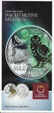 Österreich 3 Euro Eule 2018 nur Flyer no coin   Eiamaya