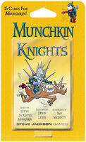 Munchkin Knights Expansion Card Game Adds 15 Cards Steve Jackson Booster SJG4253