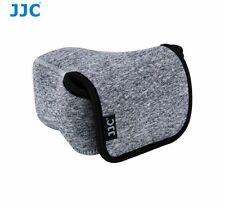 JJC OC-S2BG Neoprene Soft Pouch for CANON NIKON SONY.. Mirrorless Camera + Lens