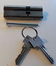 Schließzylinder - Türzylinder mit 2 Schlüsseln  / Neu / 9 cm 35/55